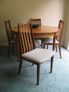 g plan dining set