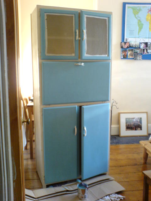 1950s kitchen opalfruitcake for Kitchen cabinets 1950s