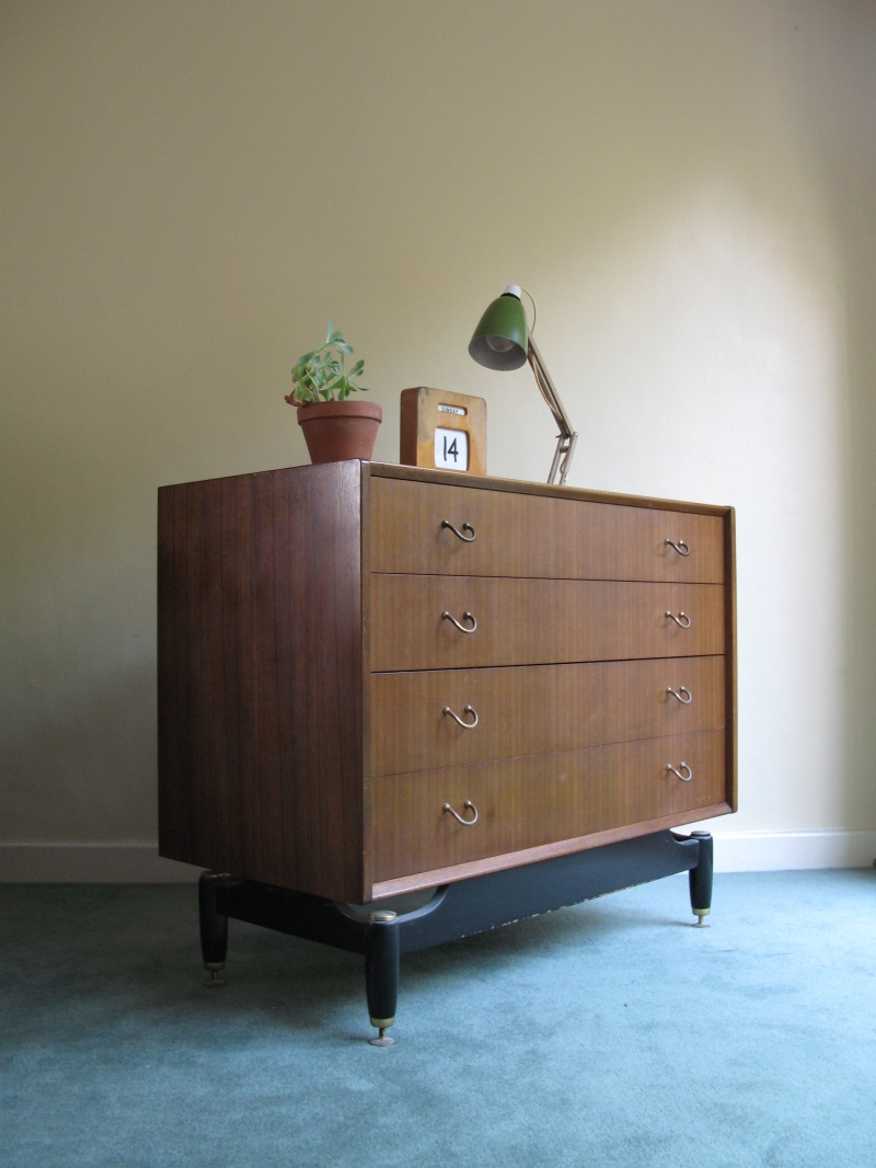 g plan chest of drawers teak